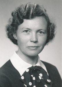 Aslaug Høydal 1956
